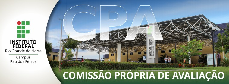 CPA do Campus Pau dos Ferros