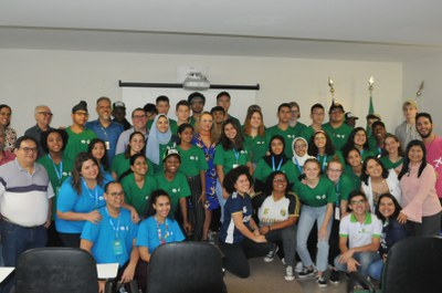 IFRN recebe intercambistas do programa BP Global STEM Academies
