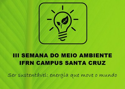 Retificação do regulamento do Triatlo Verde da III Semana de Meio Ambiente do Campus Santa Cruz