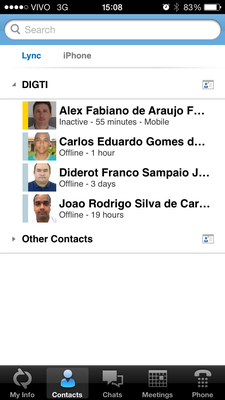 (iPhone) Contacts