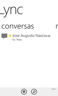 (Windows Phone) Conversas