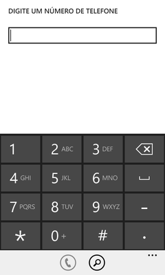 (Windows Phone) Ligar para ramal